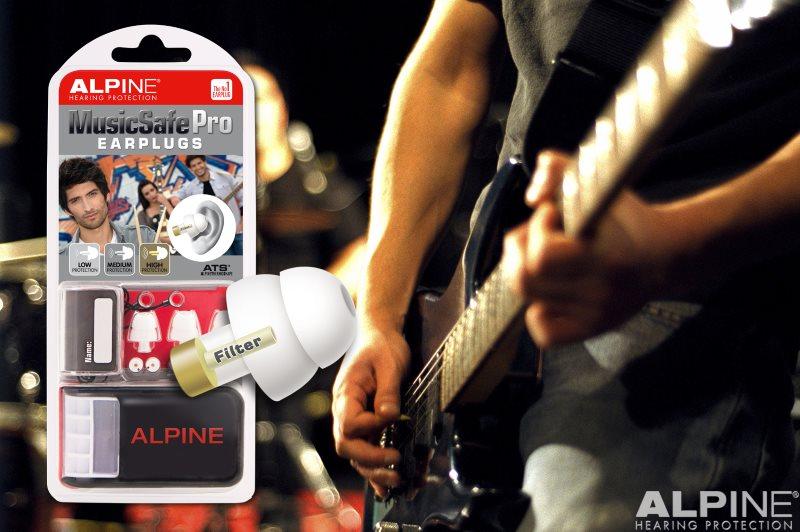 Alpine MusicSafe Pro with picture