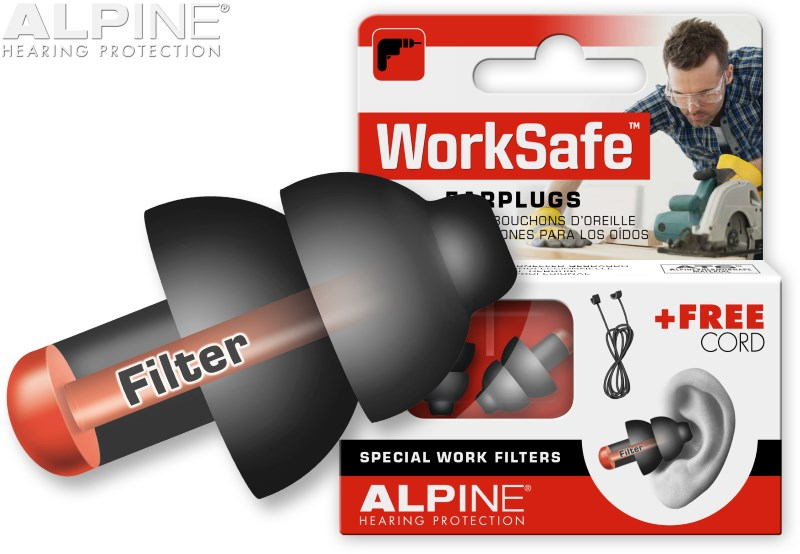 Alpine WorkSafe with earplug - STOPERY ALPINE