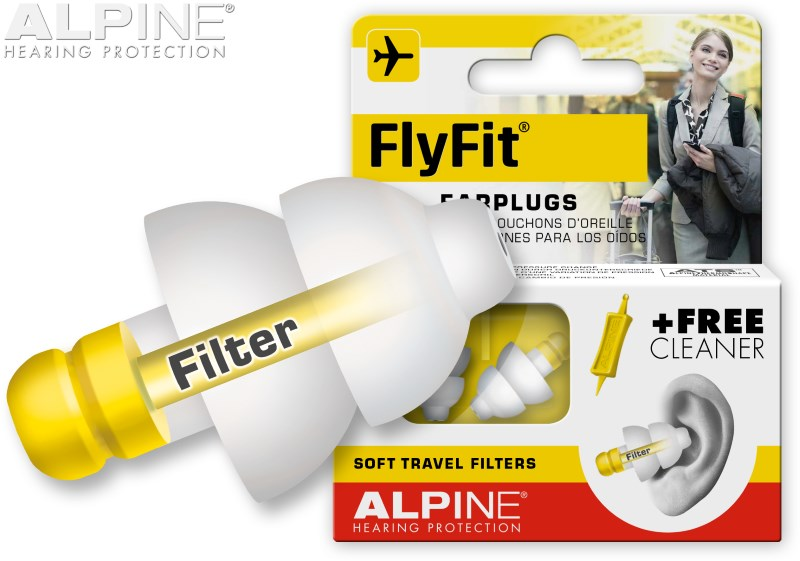 Alpine FlyFit with earplug
